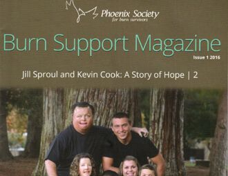 Phoenix Society Burn Support Magazine